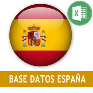 Base datos España