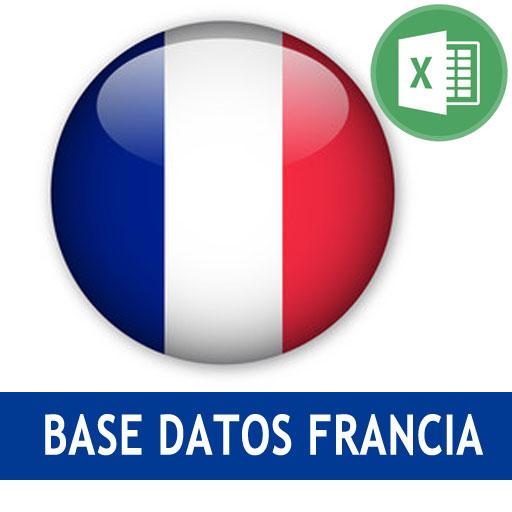 Base datos Francia